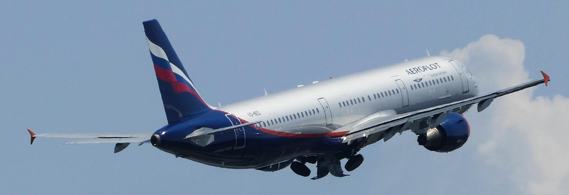 Mit dem Flugzeug nach Sankt Petersburg